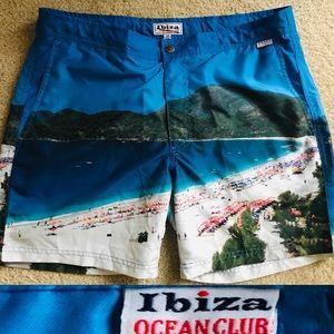 IBIZA OCEAN CLUB New Beach Print SWIM TRUN…